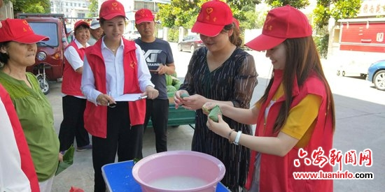 【网络中国节·端午】平桥乡南苑社区开展迎端午志愿活动