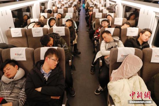 铁总:2月22日全国铁路预计发送旅客1180万人次