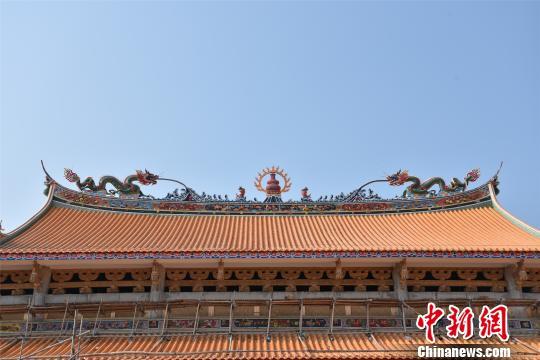 闽南传统建筑营造技艺广泛传播于闽南文化圈,并在海外大受欢迎。 陈龙山 摄