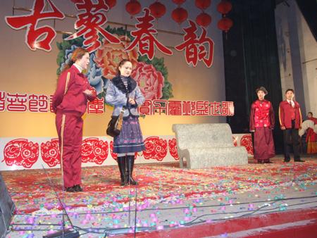 霍邱县举行2007年春节文艺晚会