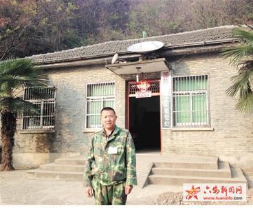 """金寨一农民独守部队营房28年 战士们亲切喊他""""老班长"""""""